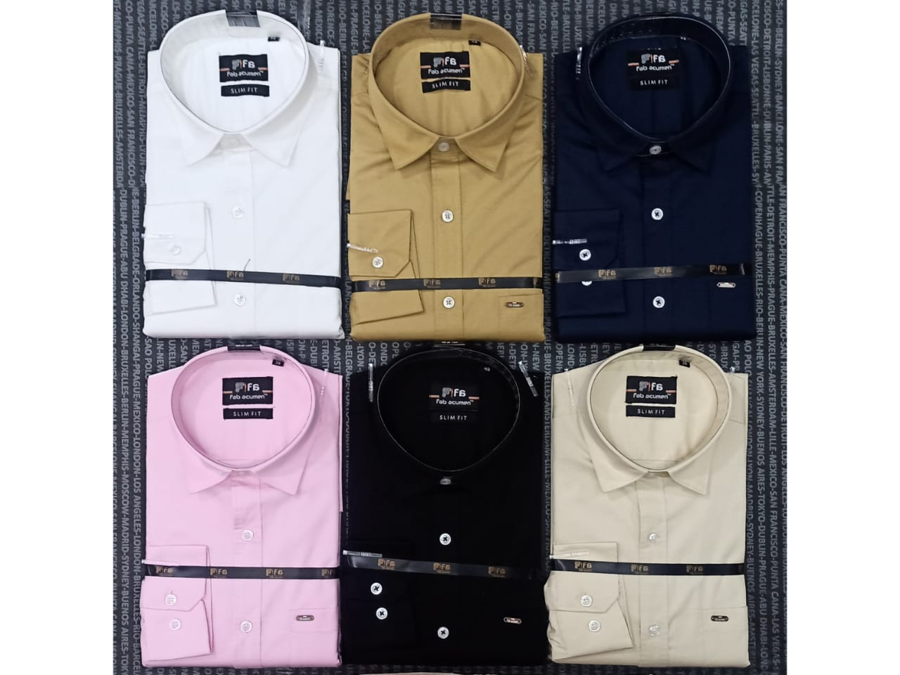 Slim Fit Solid Casual Shirt