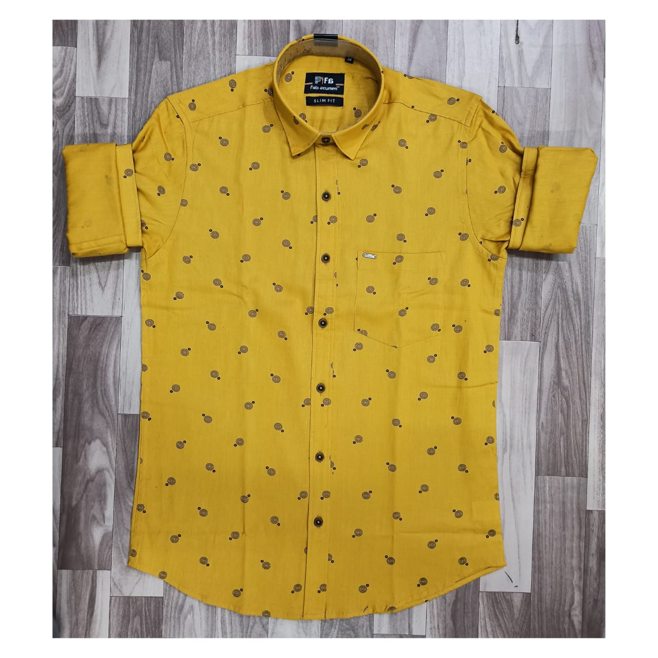 Summer Collection, Cotton Print Slim Fit